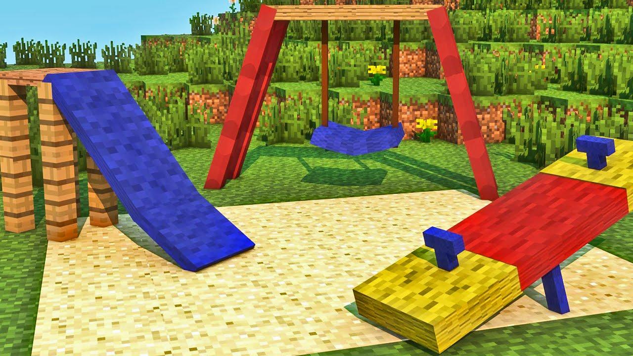 Minecraft - Industrial Craft: Construindo Parquinho - YouTube