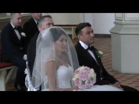 Ślub Kościelny Jagody i Stevena w Szczecinie Dąbiu – Polska