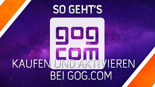 GOG.COM Spiele Key einlösen - Witcher 3 - Tutorial - German/Deutsch - HD