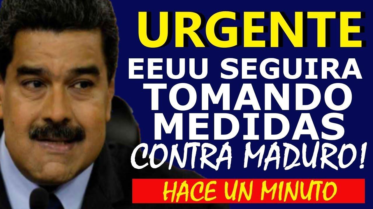 🔴NOTICIAS DE VENEZUELA HOY 05 JULIO 2020, ESTADOS UNIDOS SEGUIRÁ CASTIGANDO A CÓMPLICES DE MADURO