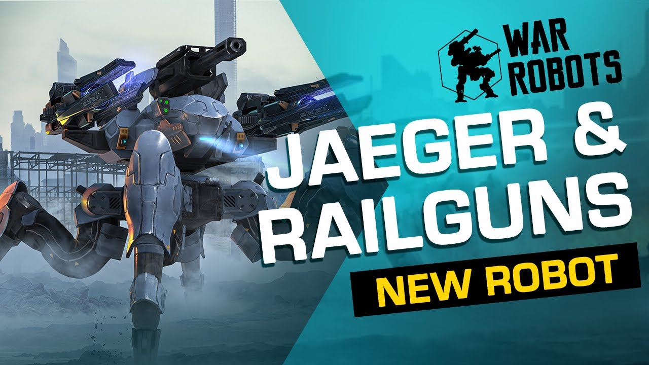 War Robots: JAEGER, Ultimate Sniper 🎯 | NEW ROBOT Overview (Evolife Bloom)
