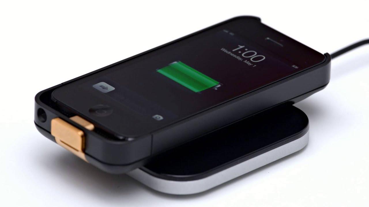 Duracell Powermat - iPhone 5 PowersnapKit - YouTube
