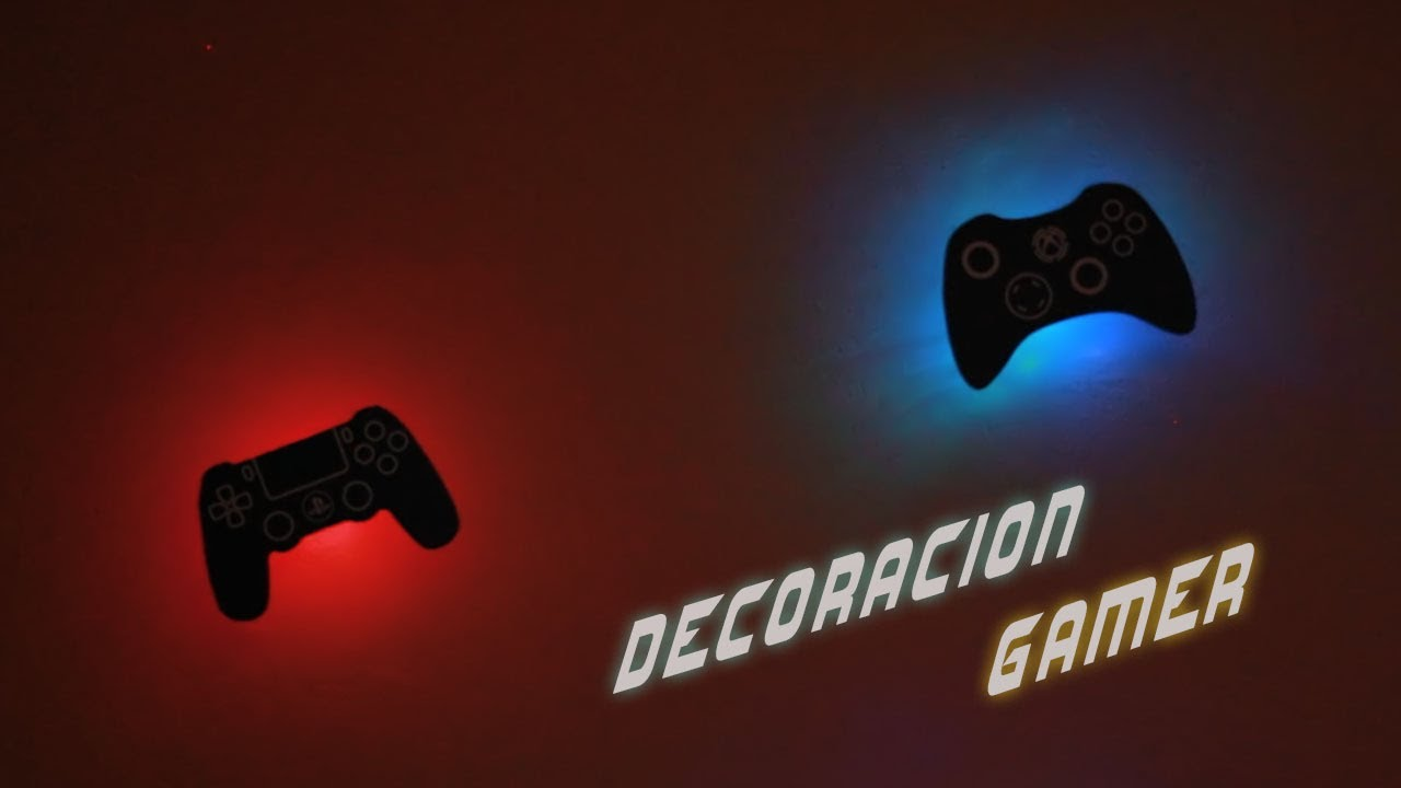 3 Ideas Increbles para tu Decoracin Gamer  Life Hacks