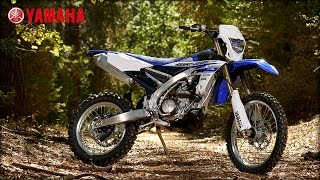 Yamaha WR450F Features & Benefits Walk-around