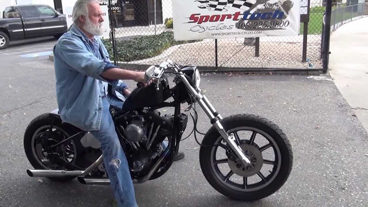 Hunting Harleys 1981 FXS Ridged Bobber