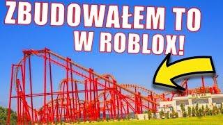 UDAŁO MI SIĘ ZBUDOWAĆ ROLLERCOASTER Z ENERGYLANDI W ROBLOX!! *serio* | Theme Park Tycoon 2