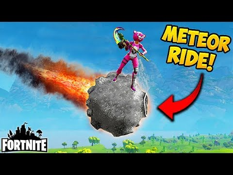 Riding A Meteor First Ever Fortnite Funny Fails And Wtf Moments