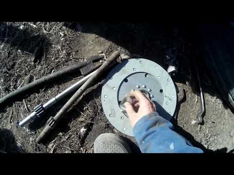 Как правильно ставить диск сцепления на т 25