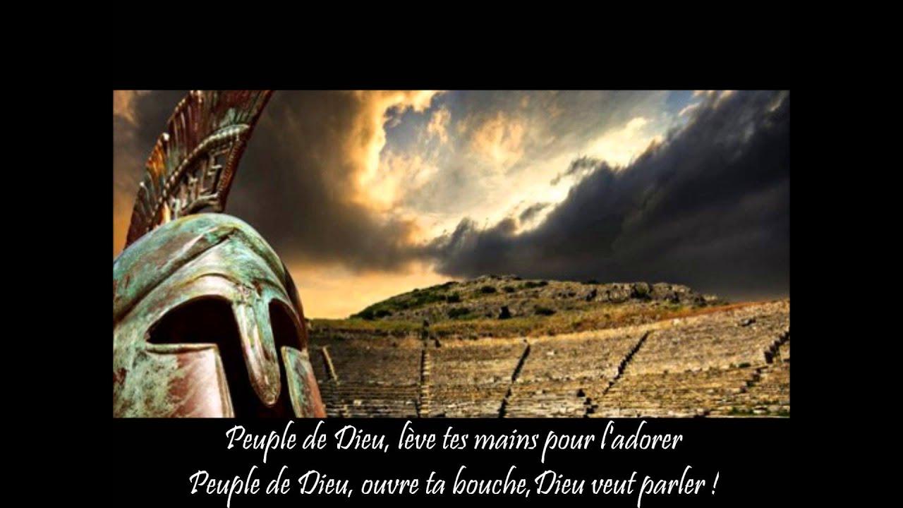 Exceptionnel Dieu a une armée - chant chrétien - YouTube VJ58