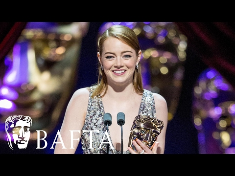 Emma Stone wins Leading Actress | BAFTA Film Awards 2017