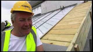 "Tommy Walsh's Eco House - ""adding The Roof"" Hd"