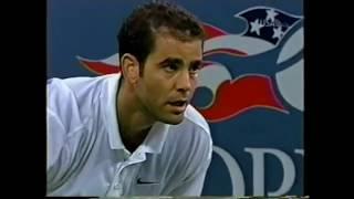 Sampras vs Haas US Open 2002 4R (Highlights)