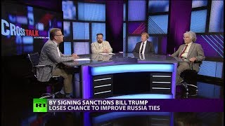 CrossTalk  Bullhorns  Sanctions War (EXTENDED VERSION)
