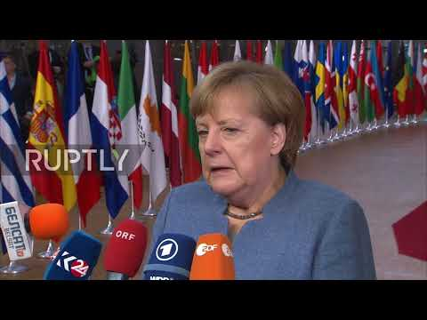 Belgium: We must be 'open-eyed' about Russia - leaders arrive for EU Eastern Partnership summit