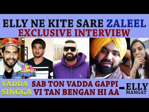 Fer Bhadkea Elly Mangat | Exclusive Interview Part 1 | Singga | Himanshi Khurana | Gabruu Da Dhaba
