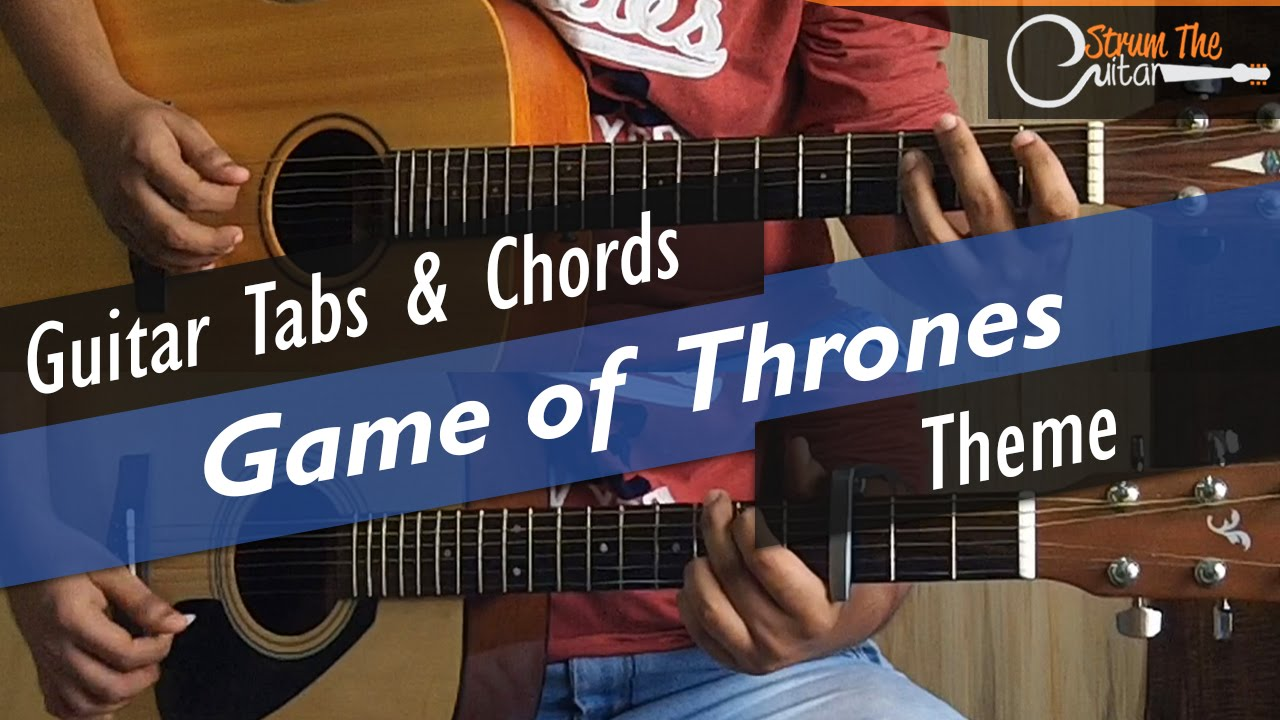 Game Of Thrones Guitar Tabs Lead Chords Lessontutorial