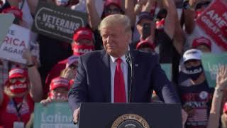 President Trump campaigns in Tucson, Arizona