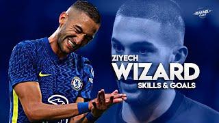 Hakim Ziyech 2021 - The Wizard - Skills , Goals , Assists - HD