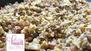 Homemade Dirty Rice Recipe | I Heart Recipes