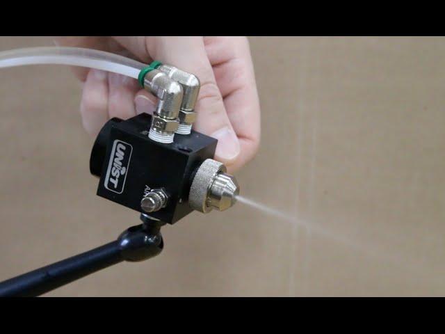 Unist MQL Minute #8: Low Volume Spray Nozzles