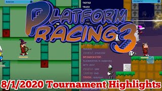 Platform Racing 3 8/1/2020 Tournament Highlights