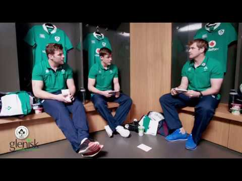 Jamie Heaslip, Jordi Murphy & Garry Ringrose reveal a few of their secrets!