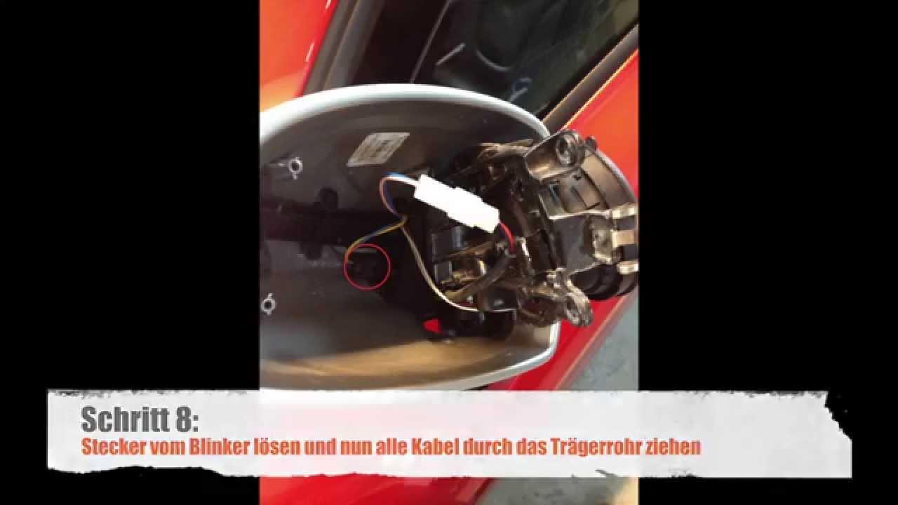 Audi TT RS Spiegelkappen demontieren / Anleitung - YouTube