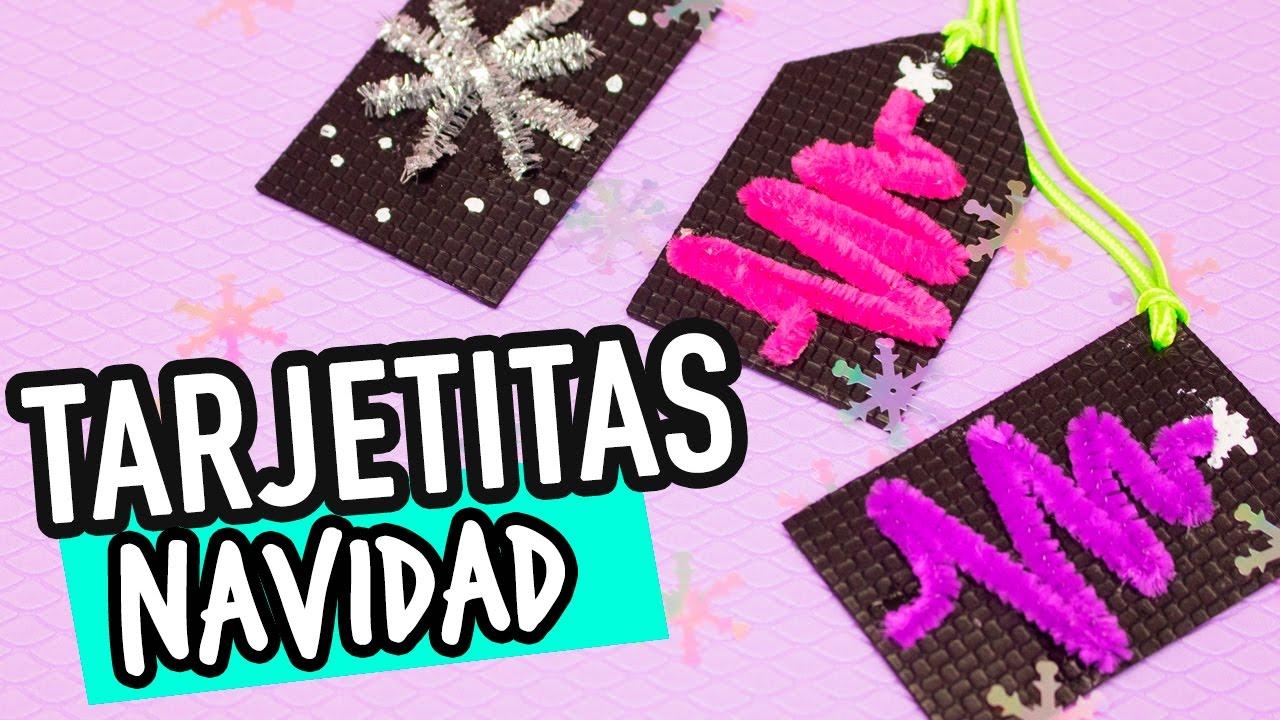 Manualidades para navidad tarjetas paso a paso f ciles - Manualidades tarjeta navidena ...