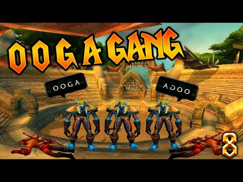 OOGA GANG WITH VENRUKI |Asmongold KING KRUSH| Classic WoW | Fun Best Daily Ep.8(Classic WoW Moments)