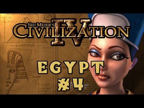 Civilization IV - Egyptian Specialist Economy! - Episode 4