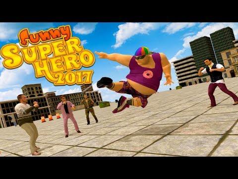 😀Funny Super Hero 2017-Забавный супер герой-ByTapSim Game Studio-Android streaming vf