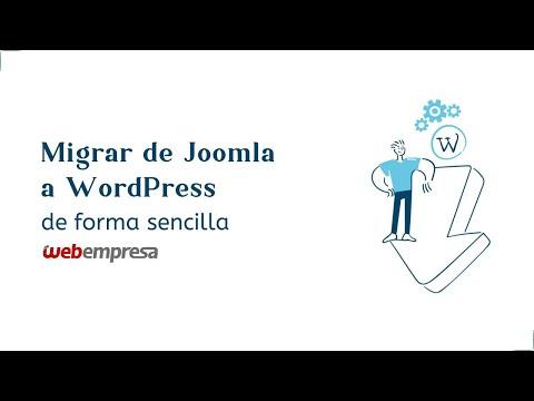 De Joomla A WordPress En Menos De 5 Minutos