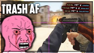 Playing With The WORST CS:GO Config Ever...