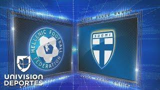 Grecia 1 – 0 Finlandia - UEFA Nations League – Grupo 2 - Resumen y Goles completo
