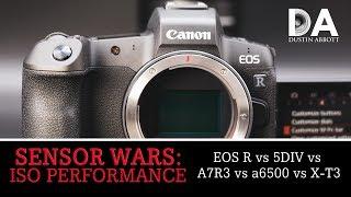 Sensor Wars:  EOS R vs 5DIV vs Sony vs Fuji | High ISO | 4K