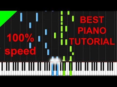 Magic! - Rude piano tutorial