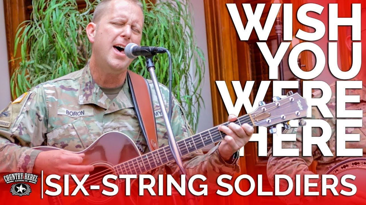 Six-String Soldiers — Wish You Were Here (Acoustic Cover) // Country Rebel HQ Session