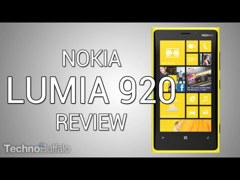 [Análisis] Nokia Lumia 920 (en español)