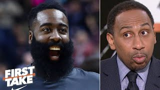 James Harden had every right to clap back at Giannis – Stephen A. | First Take
