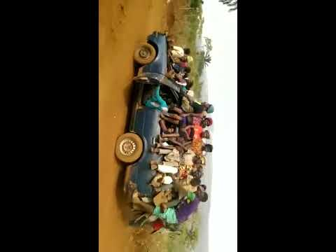 Five Passenger Car Loading 140 People Only in Africa
