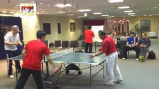 KJRI Toronto: Friendly Games Table Tennis, Indonesia - Croatia - 22 Februari 2013