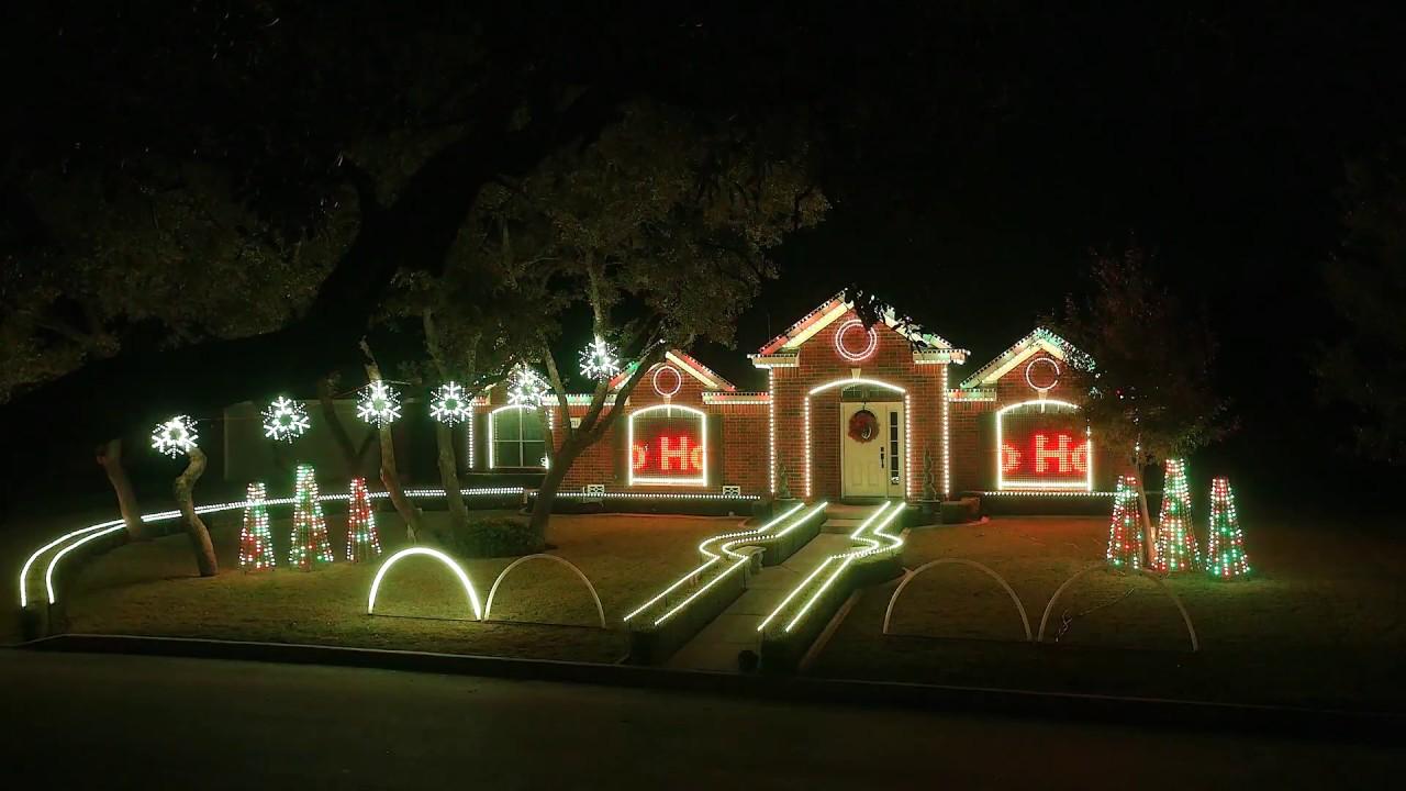 2015 Johnson Family Dubstep Christmas Light Show Featured on ABC\'s ...