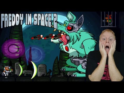 HANG ON FOXY I'LL SAVE YOU | FREDDY IN SPACE 2 | LUNAR MINES - SECRETS AREAS + MORE | FNAF