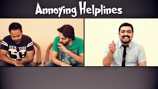 Annoying Helplines | The Idiotz