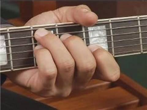 Play D7 Chord in 2nd Position on the Guitar: Root Position : Guitar Chord Dictionary 8