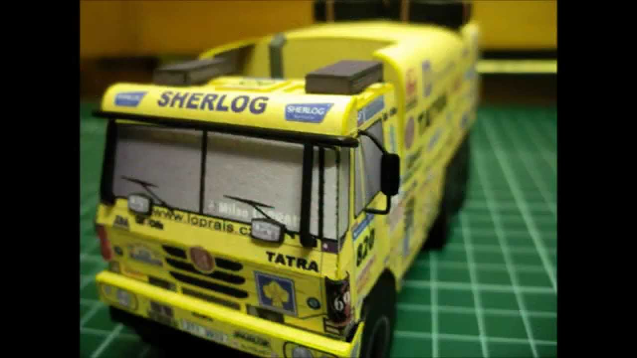 Papercraft Paper model of Tatra 815 by dj.patyzon