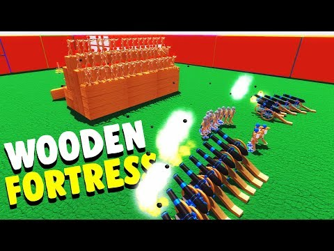 TOY SOLDIERS Attack The ULTIMATE Wooden FORTRESS! - Wooden Battles Gameplay