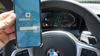 Bimmercode Coding a 2019 BMW 330i G20 M Sport with Vgate iCar2 WiFi [Outdated, see new video]