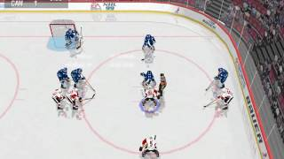 NHL 99 PC gameplay - Canada vs. Finland