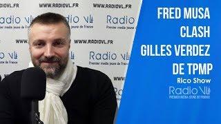 Fred Musa (Skyrock/Planète Rap) clash Gilles Verdez de TPMP